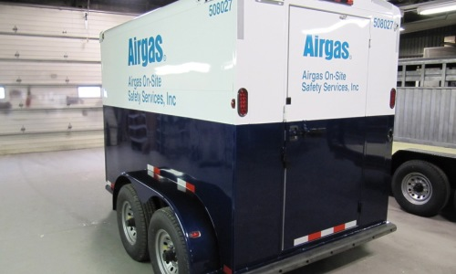 Airgas Custom Trailer