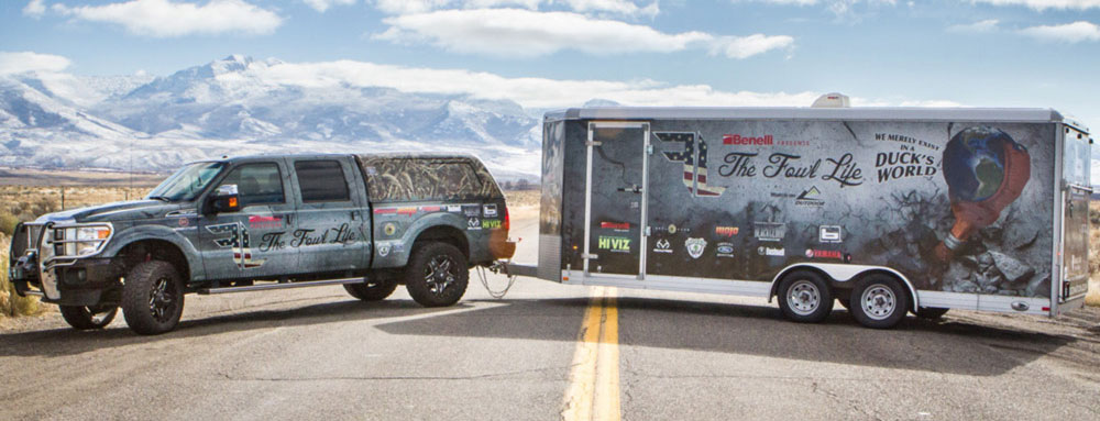 Take a Tour of Chad Belding's Custom Hunting Trailer!