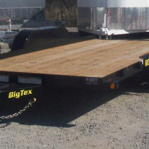 BIG TEX 16' CAR HAULER DRIVERS SIDE VIEW