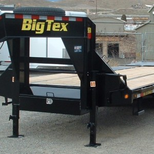 2016 BIG TEX 20' UTILITY DRIVERS SIDE VIEW