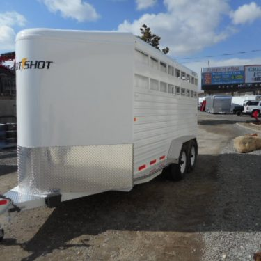 Trails West Hot Shot 17' Drivers Side View