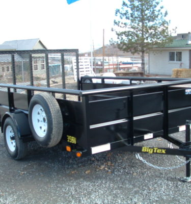 2015 Big Tex 35SV-10BK Utility Front View