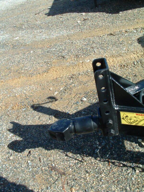2015 Big Tex 10CC TA Open Car Hauler Adjustable Coupler