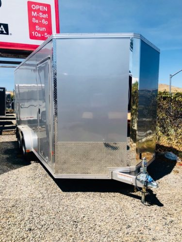 Cargo Pro Enclosed Trailer Front Driverside View 2