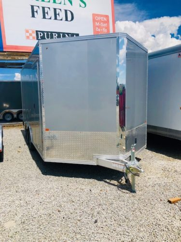 2019 Cargo Pro 16 ' Enclosed Trailer Front Passanger Side View