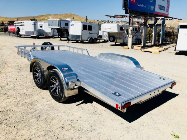 2019 CargoPro 16′ Car Hauler Trailer Back Driverside