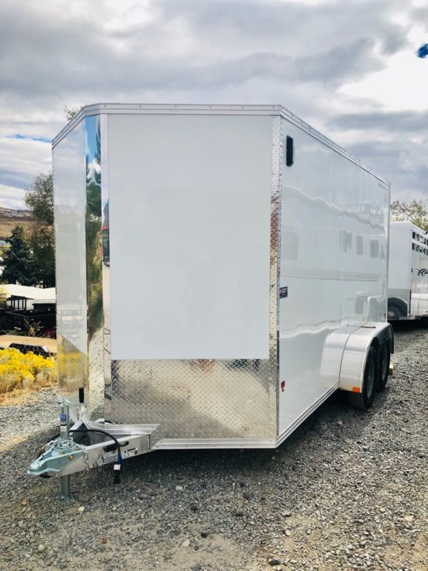 CargoPro Enclosed Trailer Front Driverside View