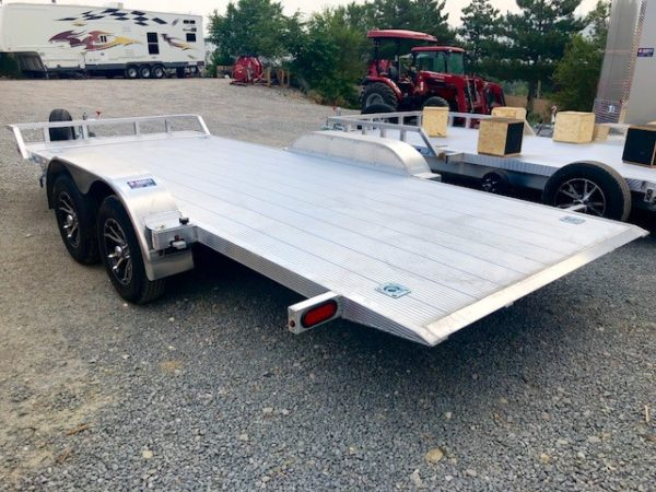 CargoPro 18′ Tilt Car Hauler Trailer Back Driverside View