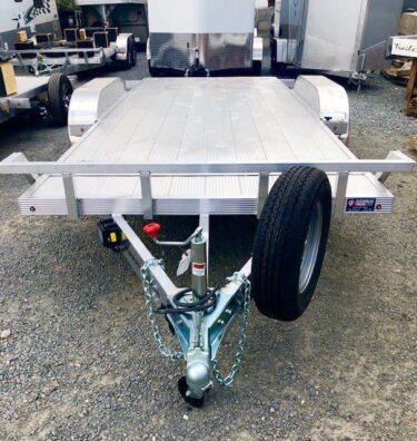CargoPro 18′ Tilt Car Hauler Trailer Front Side View