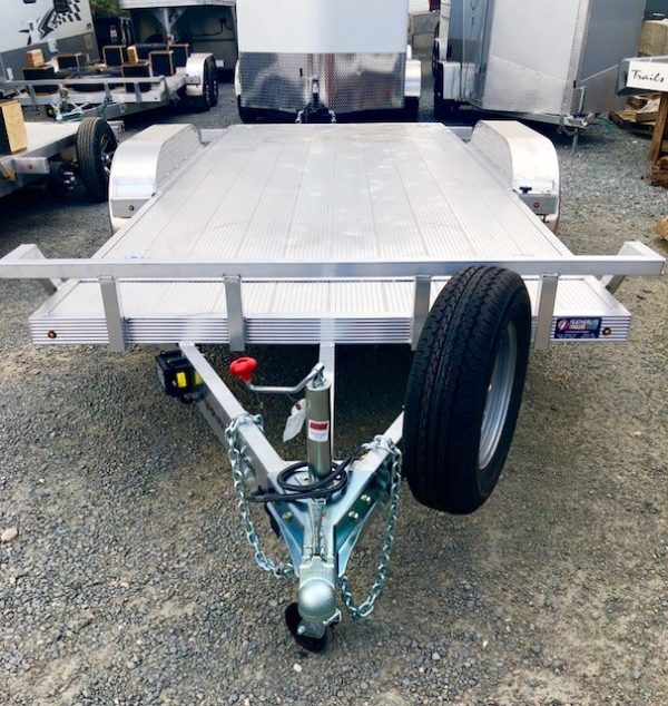 CargoPro 18′ Tilt Car Hauler Trailer Front Side View
