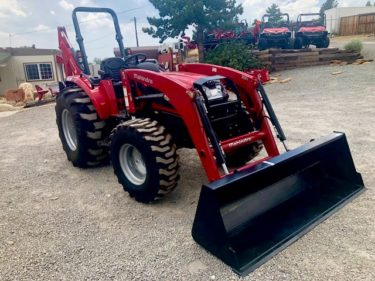 2018 Mahindra 3550 Tractor Front Passanger View