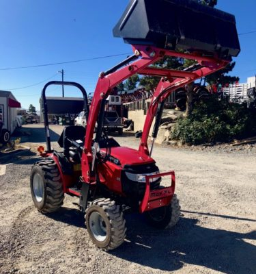 Mahindra Max 26XL Tractor Shuttle Transmission Front Passanger Side View