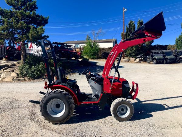 ahindra Max 26XL Tractor Shuttle Transmission Front Passanger Side View