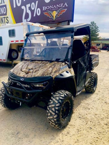 2018 Camo Retriever Driverside View