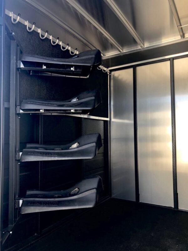 2019 Logan Stock Combo 21′ GN Trailer Inside Tac Room