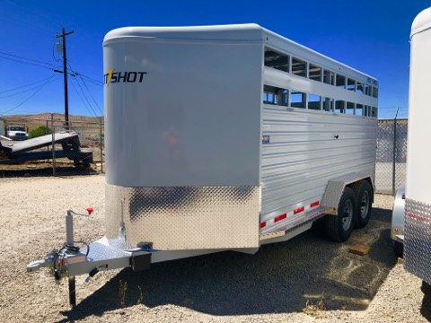 2018 Trails West Hot Shot 17′ Drivers Side View