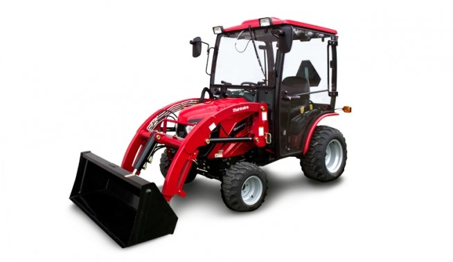 Mahindra emax S 25 Tractor Loader Cab Front Driverside View