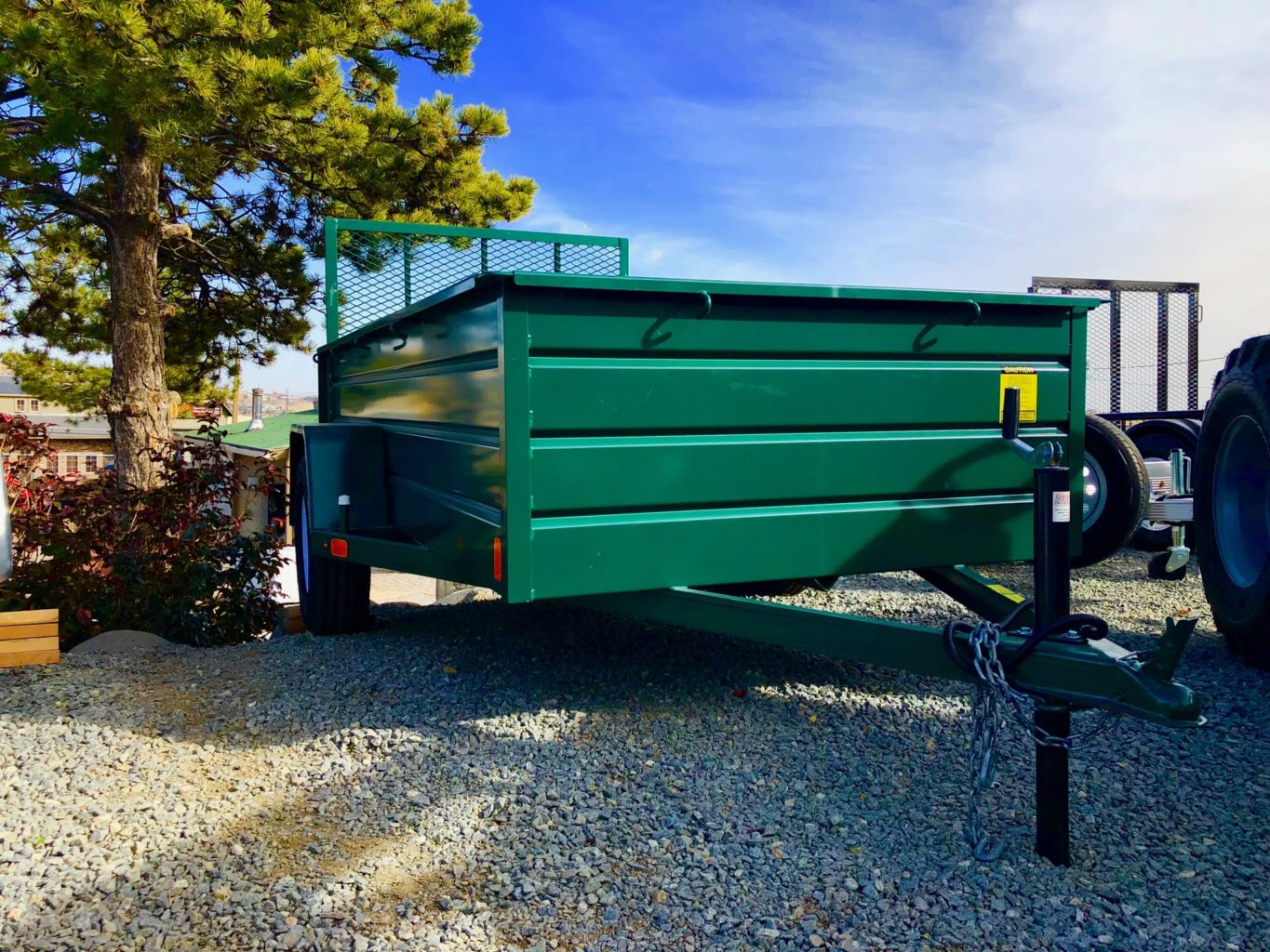 2017 Best Trailer 10′ Utility Trailer Front Right Side View