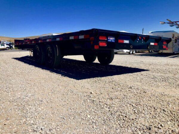 2019 Big Tex 20′ Deckover Trailer Driverside Under Low View