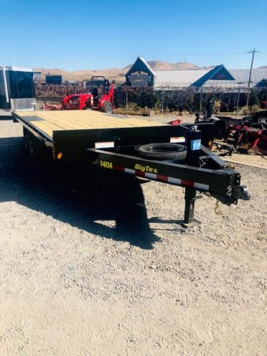 Big Tex 14OA-20 Utility Trailer Front Passanger Side View