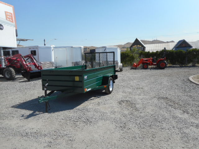 Best 10′ Utility Trailer Front View