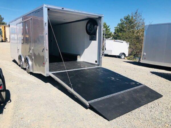 2019 Cargo Pro 20′ Enclosed Car Hauler Trailer BAck Driver Side View