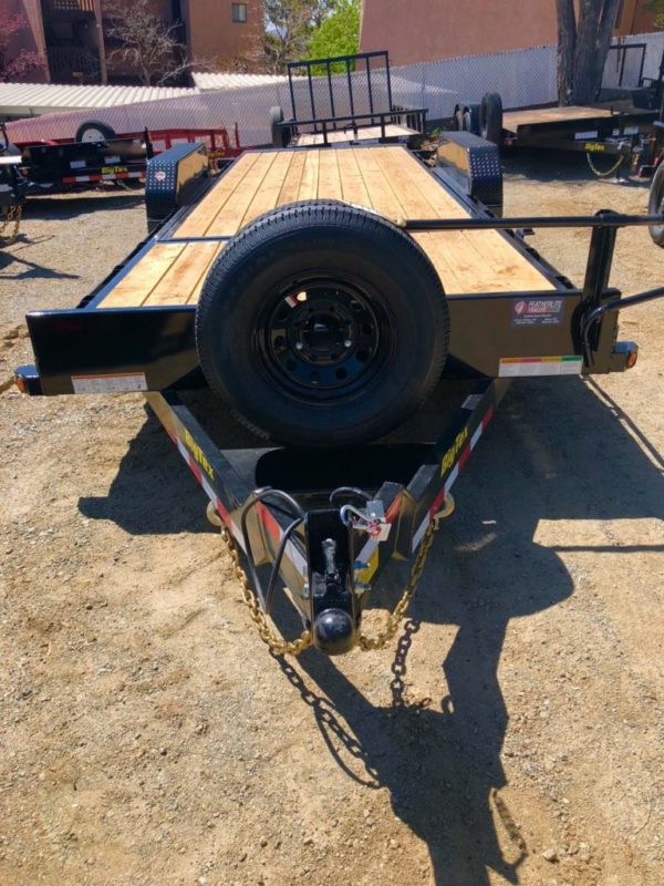 2018 14TL-22 Utility Trailer Front View