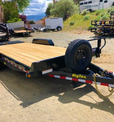 2018 14ET 20'MR Equipment Trailer Right Front Angle View