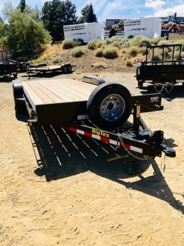 2019 Big Tex 20′ Equipment Trailer Front Passanger Side View