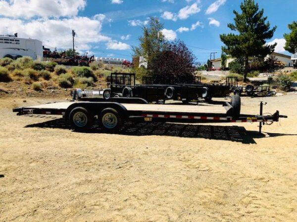 2019 Big Tex 20′ Equipment Trailer Passanger Side View