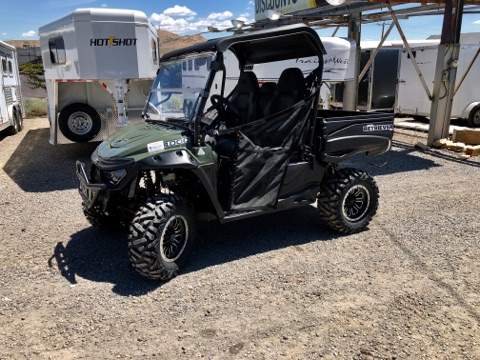 2018 Green Retriever Driverside View 2
