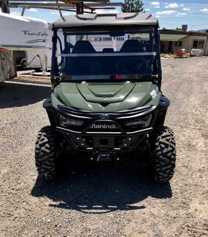 2018 Green Retriever Front View Windshield Up