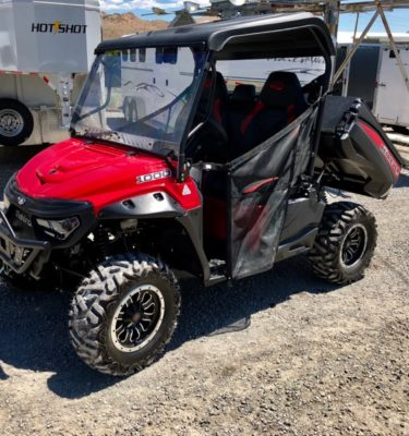 2018 Red Retriever Driver Side View