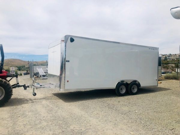 2019 Stealth 20′ Enclosed Trailer Driverside View