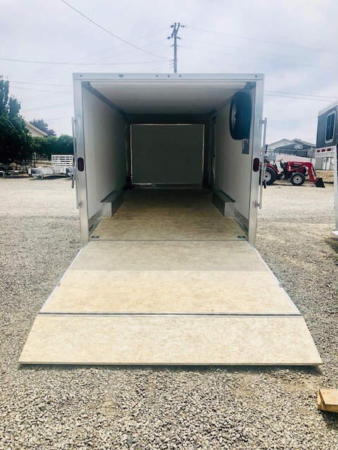 2019 Stealth 20′ Enclosed Trailer Inside View
