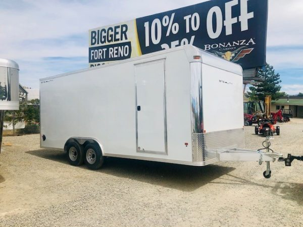 2019 Stealth 20′ Enclosed Trailer Side Passanger Side View