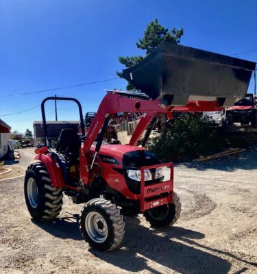 Mahindra 1538 Tractor Front Passanger Side View