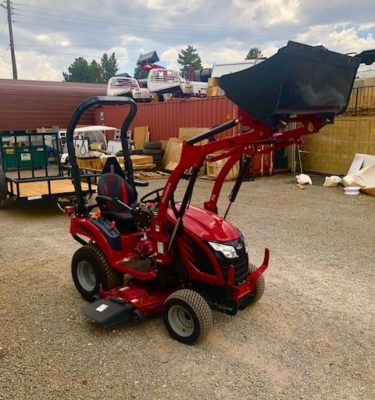 2018 Mahindra EMAXS 20 Tractor Front Passanger side View