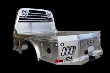 CM ALSK Truck Bed Left Back Side View