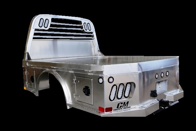 CM ALSK Truck Bed Left Back Side View