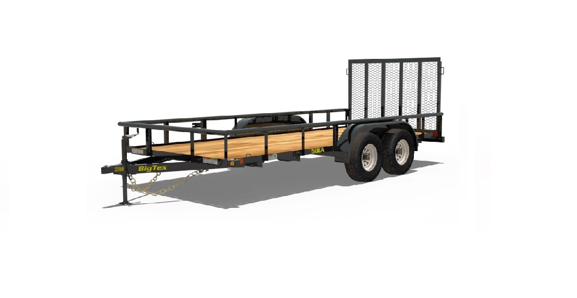 2017 Big Tex 12′ Open Utility Trailer