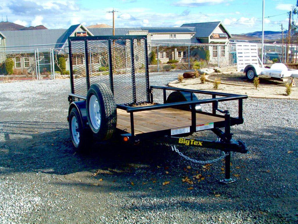 Big Tex 30SA Utility Trailer Front View