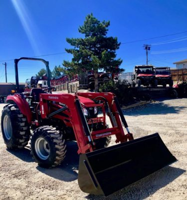 Mahindra 2655 Tractor Front Passanger Side View