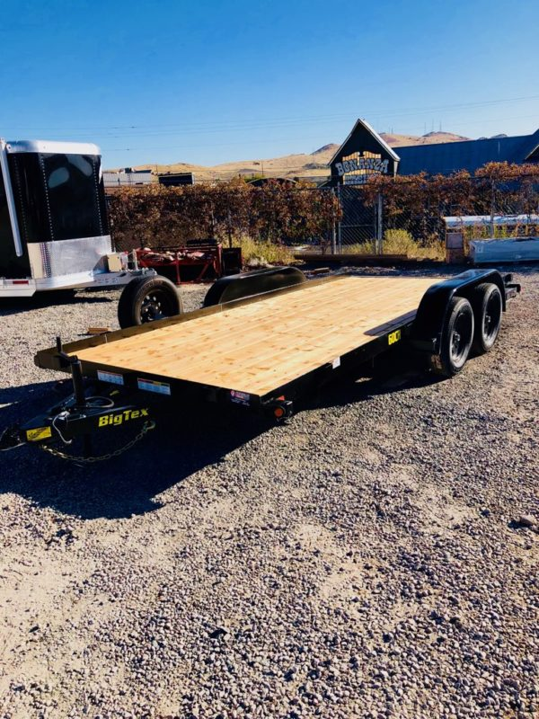 Big Tex 60CH Trailer Front Driverside View