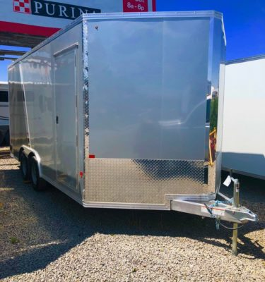 2018 CargoPro 14′ Enclosed Trailer S-C Passanger Front View