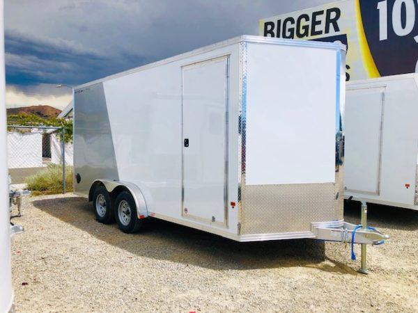 2019 Stealth 16′ Enclosed Trailer Passanger Side View