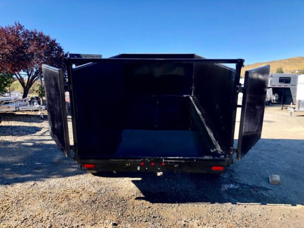 Big Tex 14′ Dump Trailer Backside View update