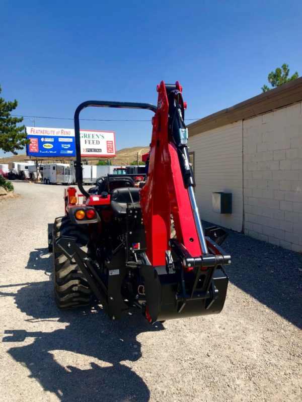 2018 Mahindra 2638 Tractor Backhoe View