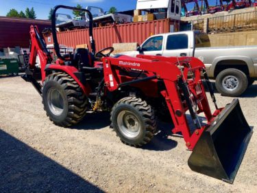 Mahindra 2638 Tractor Front Passanger Side View