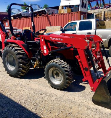 2018 Mahindra 2638 Tractor Front Passanger Side View